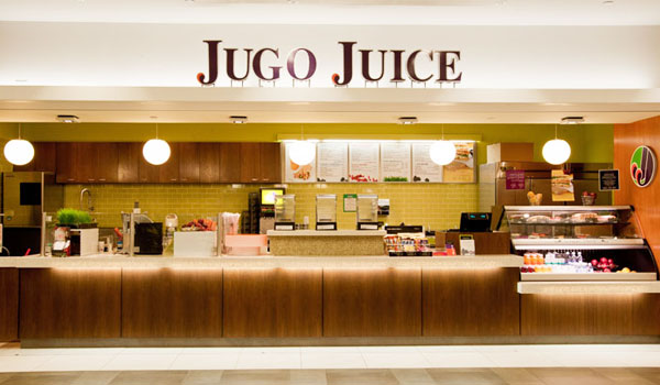 Jugo Juice YMM airport addition